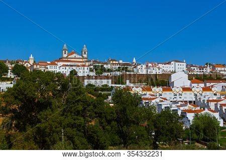 Old town Castelo De Vide in Portugal