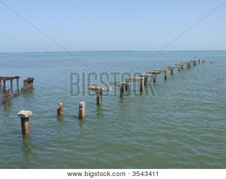An Old Destroyed Dock
