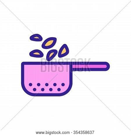 Delicious Pasta Icon Vector. Thin Line Sign. Isolated Contour Symbol Illustration