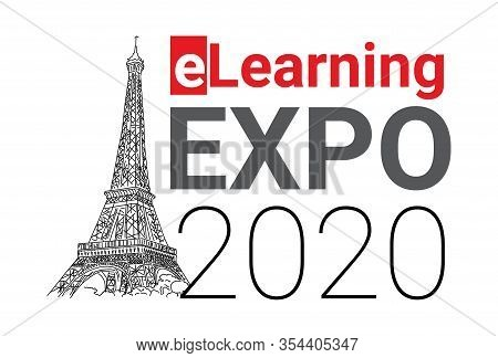 Event In Paris Elearning Expo 2020, Eiffel Tower. Contribute To Overall Efficiency. Attending Confer