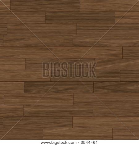 Dark Brown Parquet Flooring