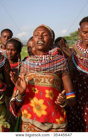 Samburu Woman, Kenya, Africa