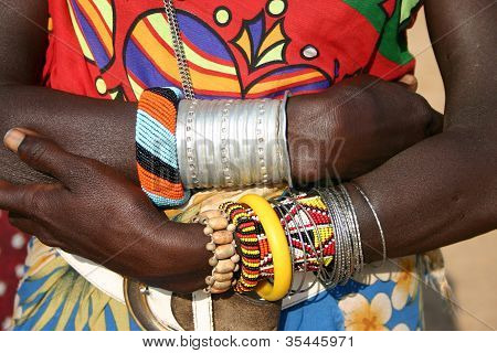 Samburu Jewellery and Fashion, Kenya, Africa