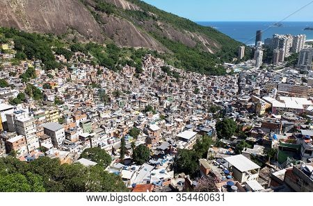 Rocinha Is The Largest Favela In Brazil, And Is Located In Rio De Janeiro S South Zone And Is Locate