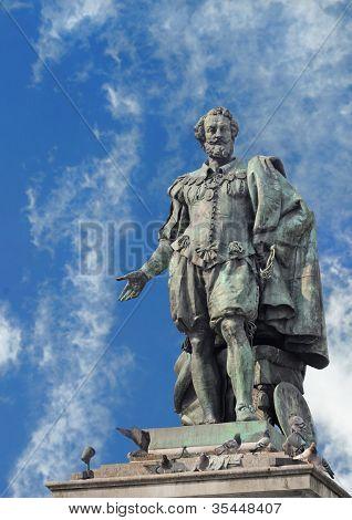 Statue of Rubens, Antwerp