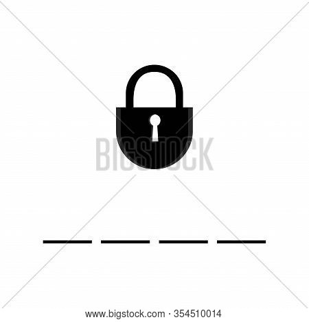 Security Vector Web Site Icon, Computer, Program, Button Signs On Password And Input Password