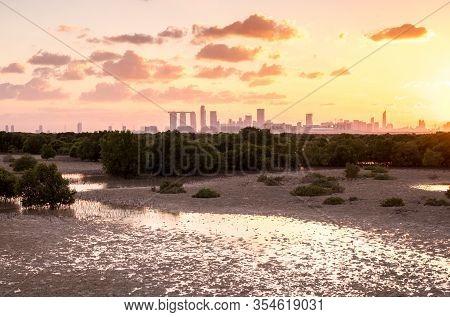 Abu Dhabi Reem Island View, United Arab Emirates