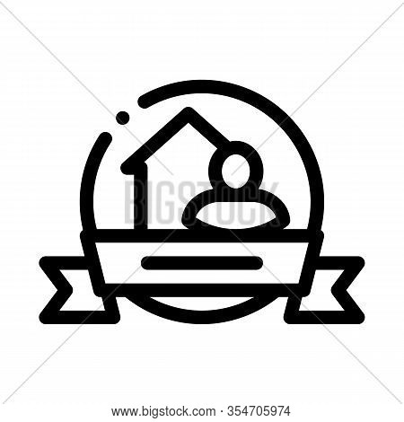 Brewer Logo Label Icon Vector. Outline Brewer Logo Label Sign. Isolated Contour Symbol Illustration