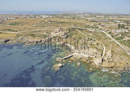 The Old Tuna Fishery Of Porto Palo Capopassero In Sicily