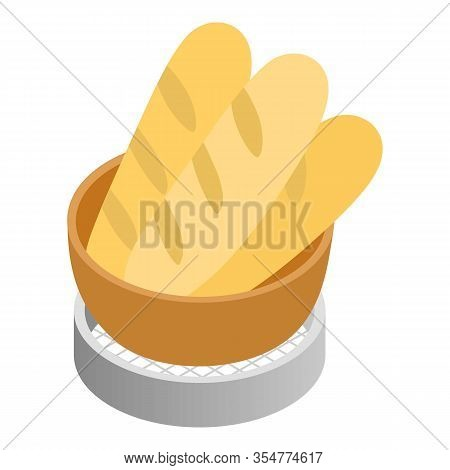 Baking Icon. Illustration Of Baking Vector Icon For Web