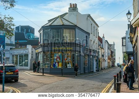 Brighton, United Kingdom - 12 December 2019: England At Home, Furnishings And Gift Shop In Brighton