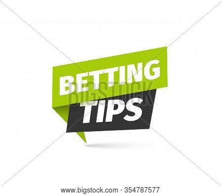 Betting Tips Isolated Vector Icon. Bookmaker Sign On White Background
