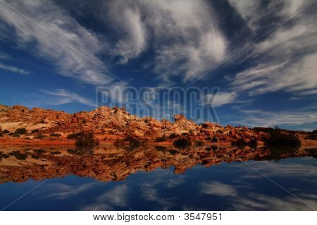 Redrock Reflections