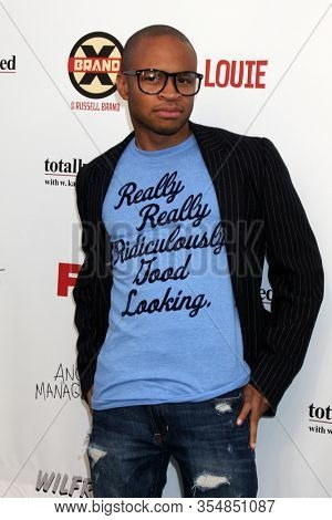 LOS ANGELES - JUN 12:  Eugene Byrd at the FX Summer Comedies Party at the Lure on June 12, 2012 in Los Angeles, CA