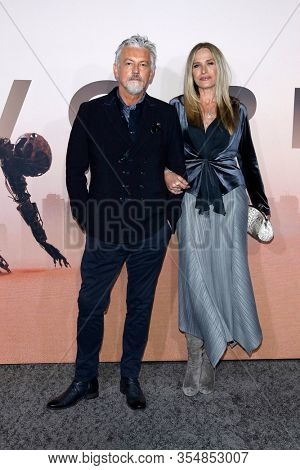 LOS ANGELES - MAR 5:  Tommy Flanagan, wife Dina at the