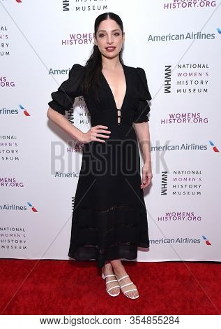 LOS ANGELES - MAR 08:  Anna Hopkins arrives for the 8th Annual Women Making History Awards on March 08, 2020 in Los Angeles, CA