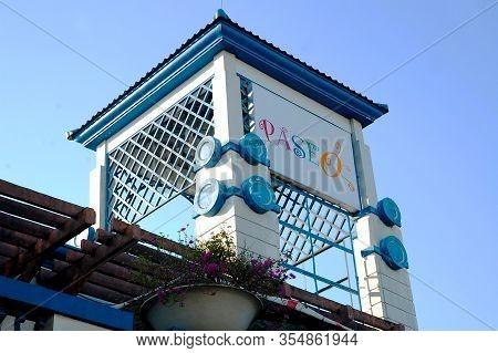 Laguna, Ph - Oct. 23: Paseo De Santa Rosa Sign On October 23, 2016 In Laguna, Philippines. Paseo De