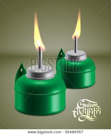 Muslim Oil Lamp - Pelita