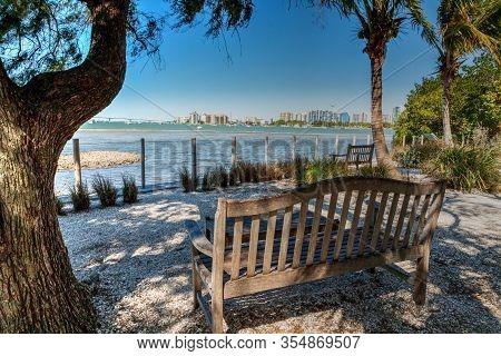 Bench View Of Sarasota Bay