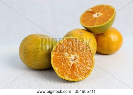 Orange Has Many Antioxidants. And The Orange Peel Has The Effect Of Helping To Destroy Cancer Cells