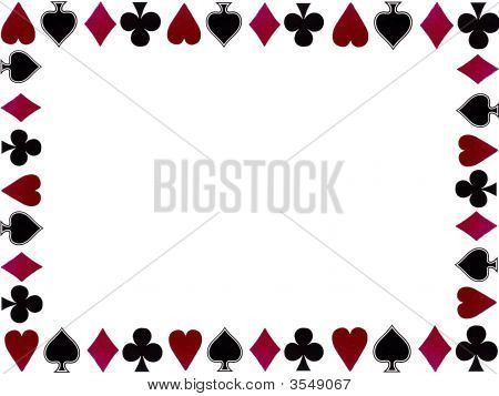 Playing Card Symbols Boarder
