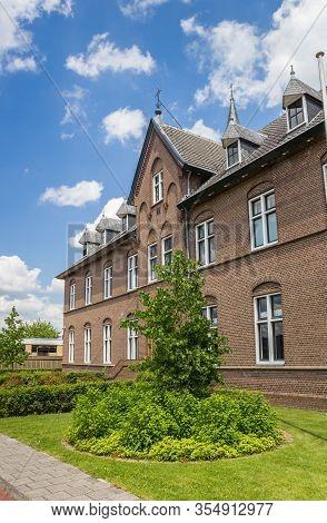 Historic Monastery And Garden In The Center Of Hoogeveen, Netherlands
