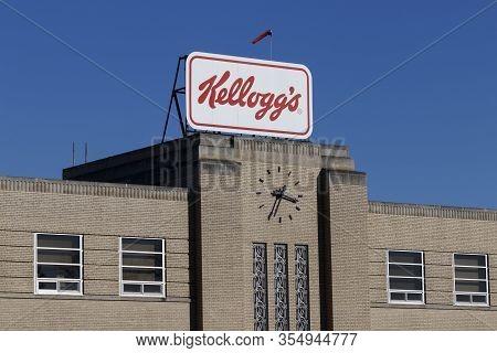 Cincinnati - Circa February 2020: Kelloggs Snack Division. Kellogg Snack Brands Include Keebler, Pop