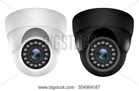 Realistic 3d Ip Video Camera Security Surveillance
