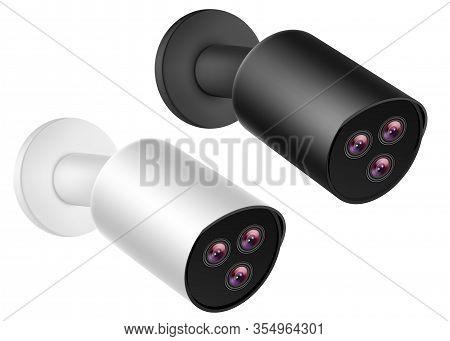 Cctv Ip Cameras, 3d Security Video Surveillance