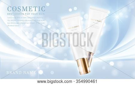 Cosmetic Bottles_elegant Blue 01