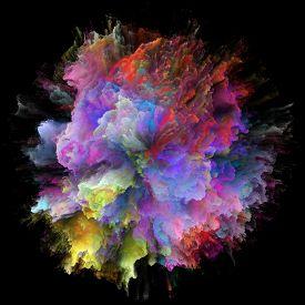 Speed Of Color Splash Explosion
