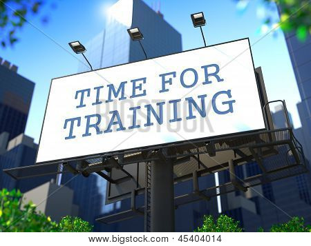 Corporate Training Concept.