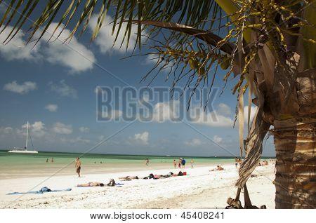 Beach of Cayo Blanco, Cuba