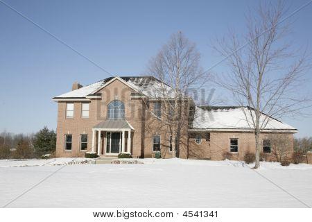 Modern Brick House-
