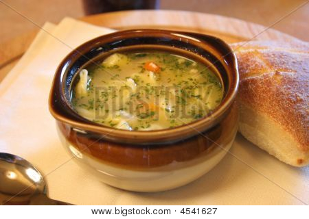 Soup With Roll