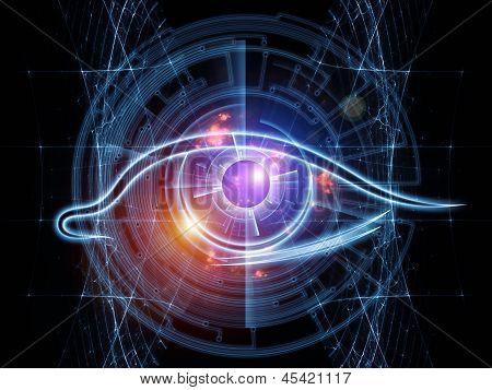 Fractal Vision Background