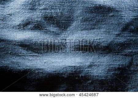 Canvas Mint Blue Burlap Texture For The Background