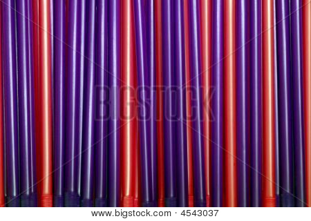 Red And Purple Pipes