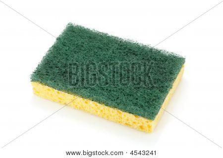 Pad Scourer And Sponge