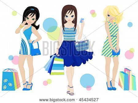 Shopping Girls