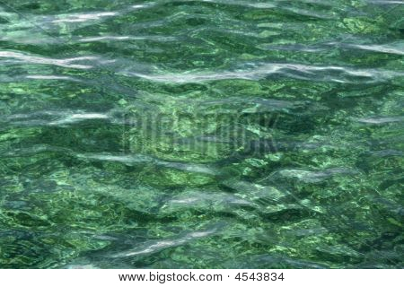 Water Surface Shades Of Green