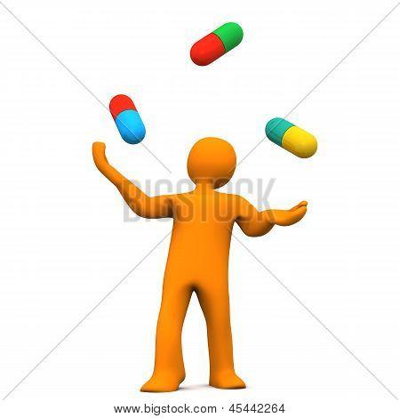 Maniquí pastillas