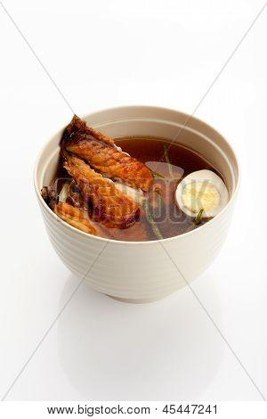Soup With Idzumi Taikabayaki
