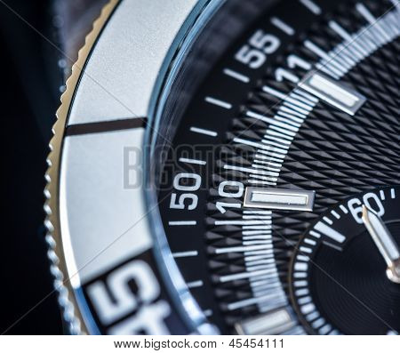 Chronograph CloseUp