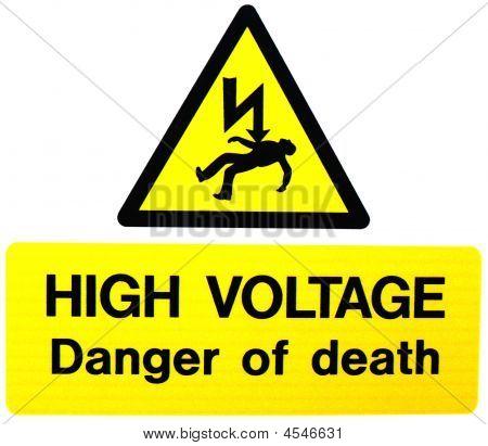 High Voltage- Danger Of Death