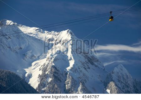 Funicular In Alps