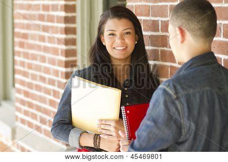 Teenage Female Student