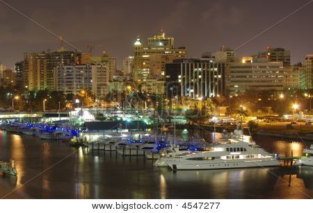 Puerto Rico At Night