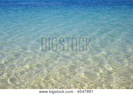 Turquoise Seascape. Beauty In Nature.