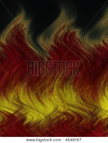 Stylized Fire Background